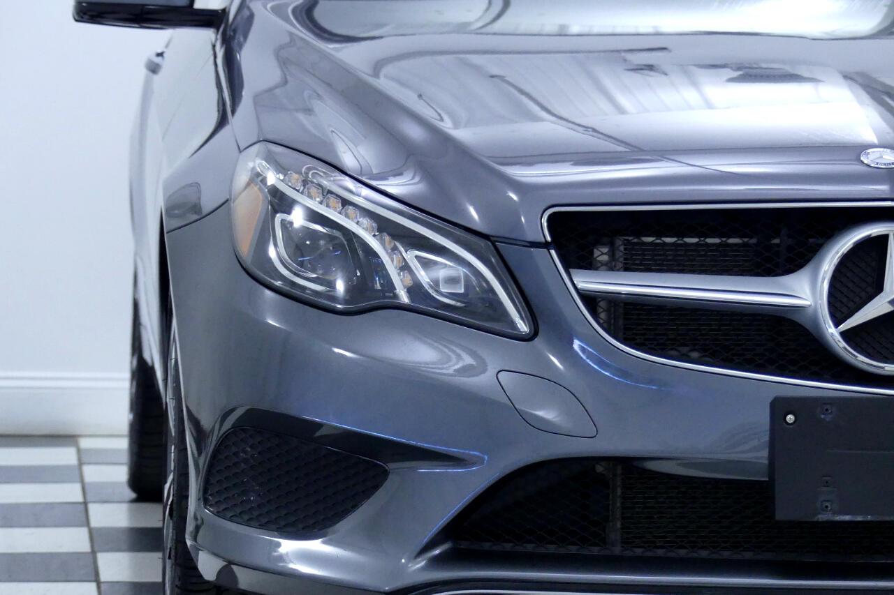 2016 Mercedes-Benz E-Class E400 4MATIC Coupe