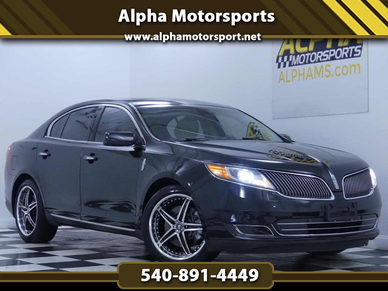 2014 Lincoln MKS AWD w/ Elite Package