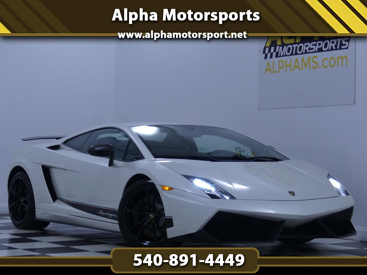 2012 Lamborghini Gallardo LP570-4 Superleggera