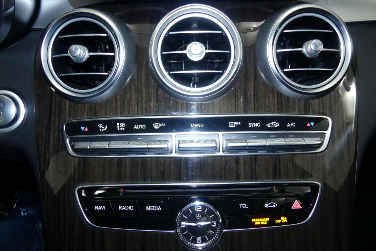 2017 Mercedes-Benz C-Class Sport 4MATIC w/ Premium Pkg