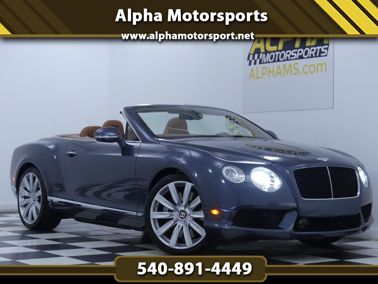 Bentley Continental GTC V8 2013