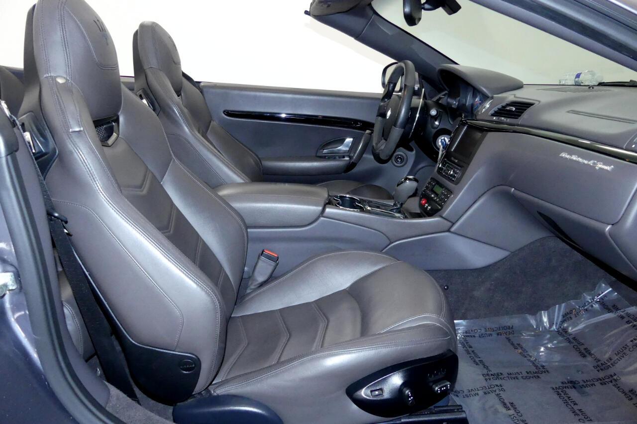 2014 Maserati GranTurismo Sport Convertible