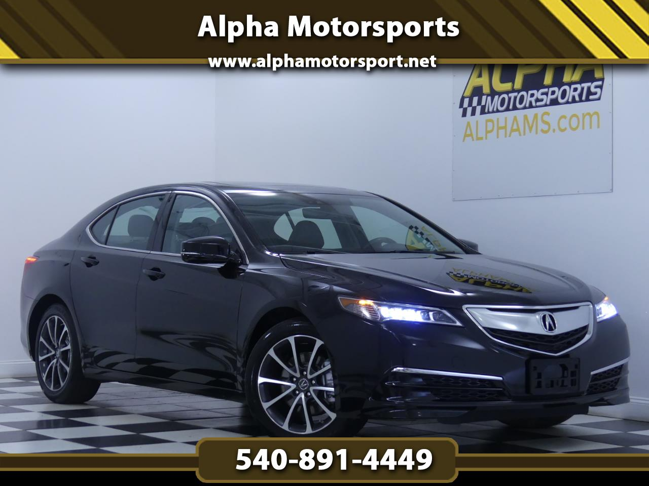 2016 Acura TLX V6 w/ Technology Package