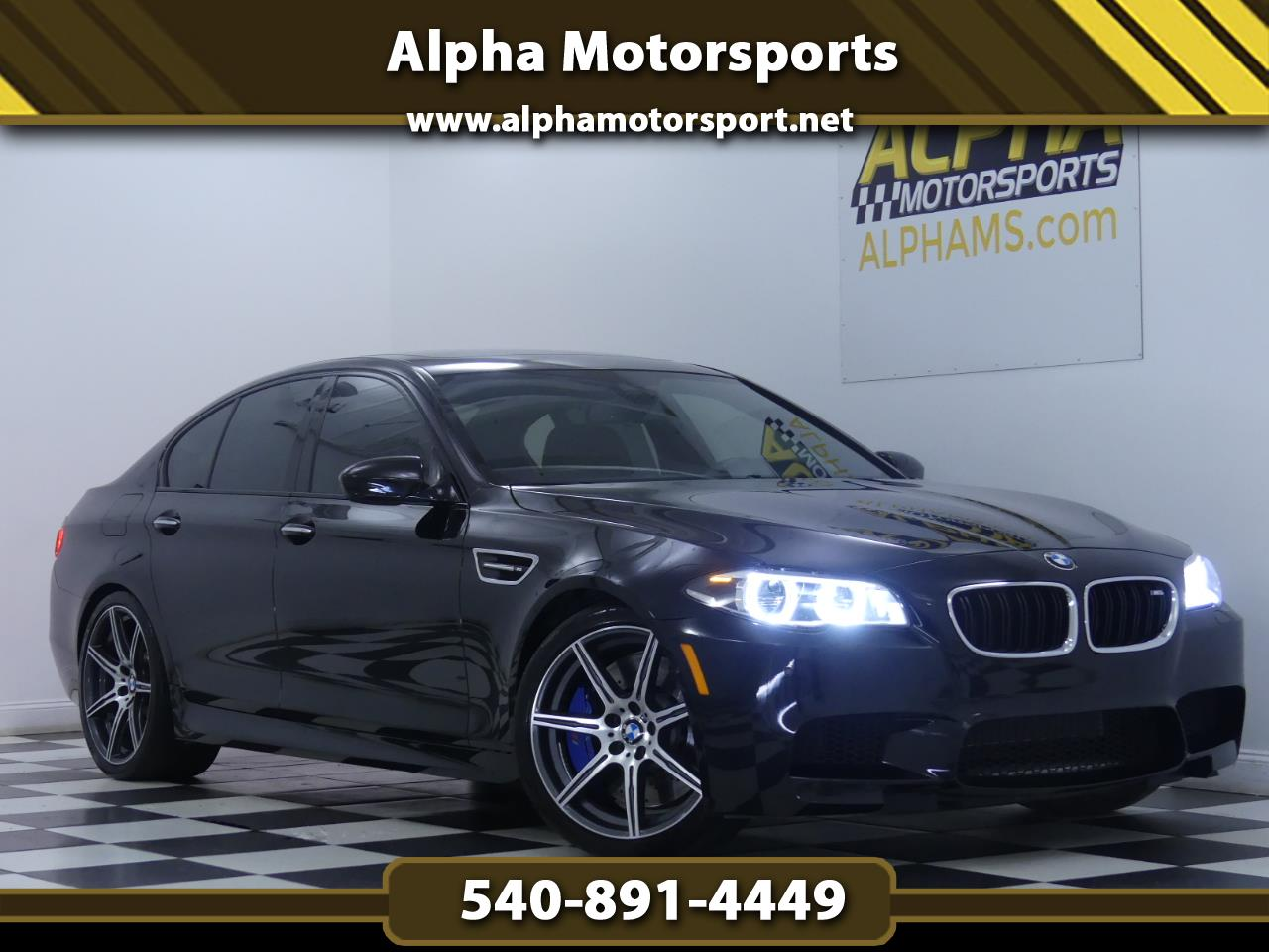 2016 BMW M5 w/ Competition Package