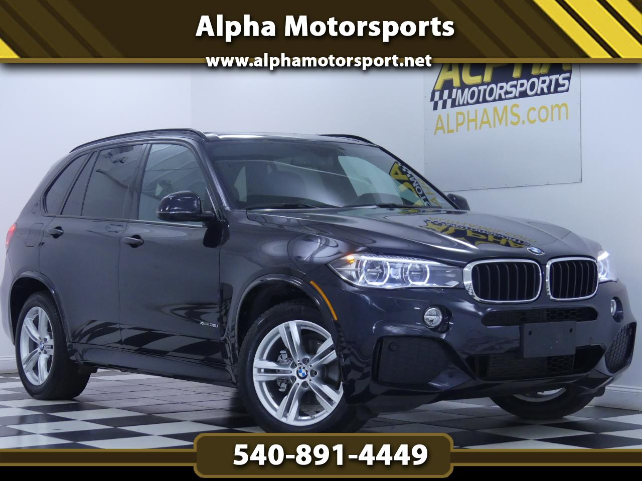 2016 BMW X5 xDrive35i w/ M Sport Package