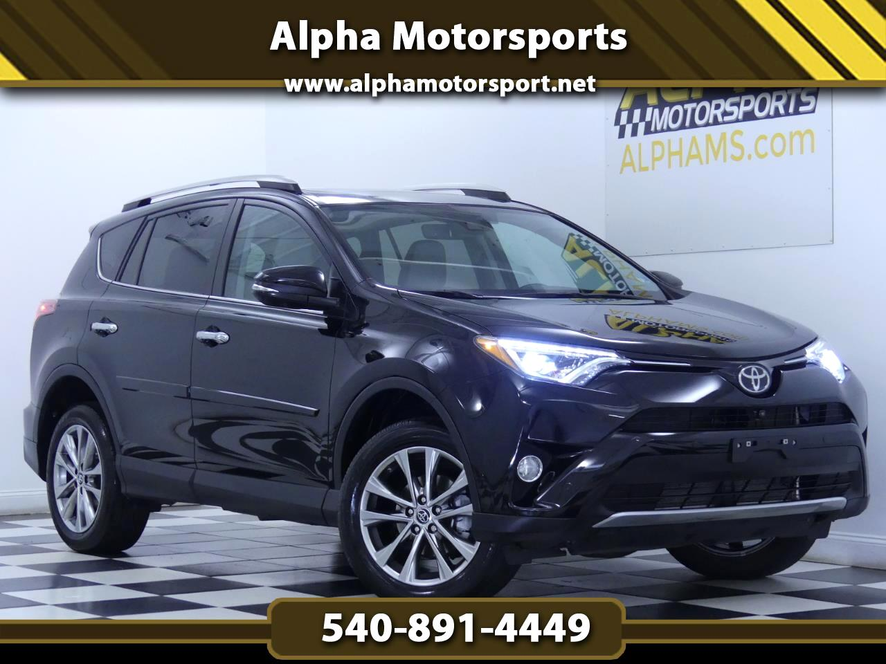 Toyota RAV4 Limited AWD 2016