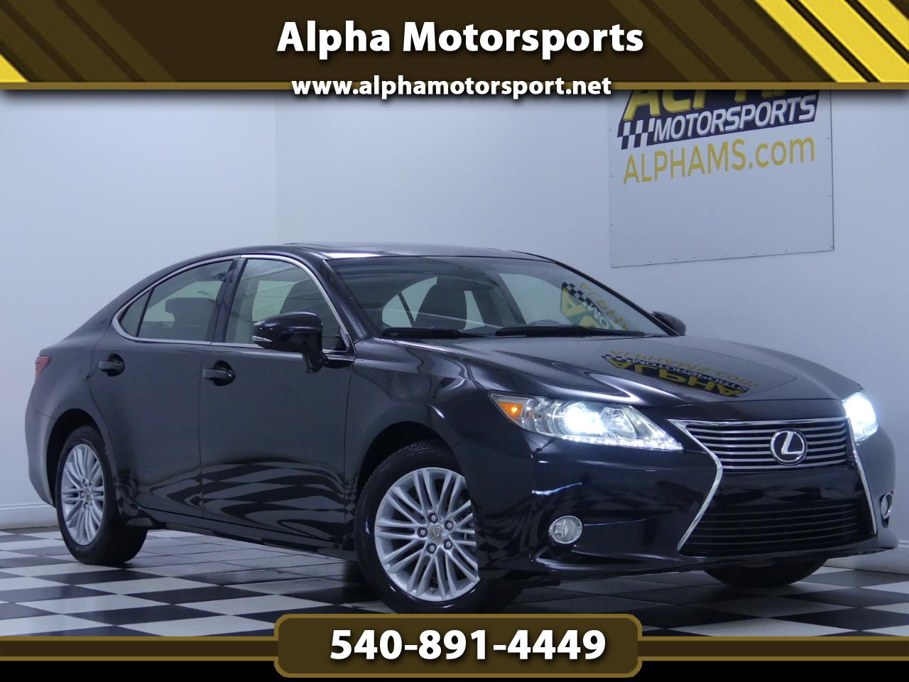 2013 Lexus ES 350 w/ Luxury Package