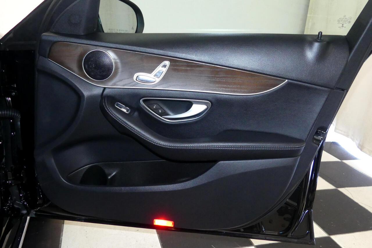 2018 Mercedes-Benz C300 Sport 4MATIC w/ Premium Pkg