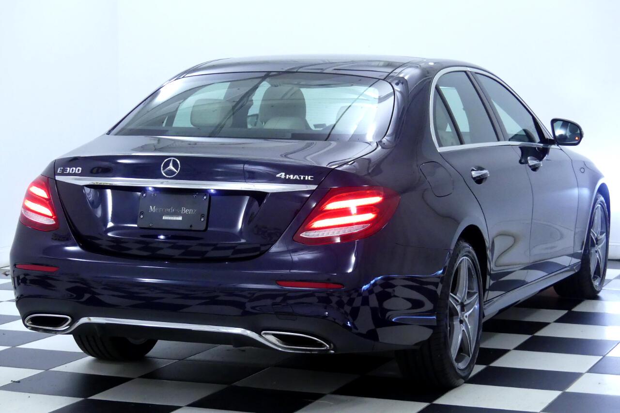 2017 Mercedes-Benz E300 4MATIC