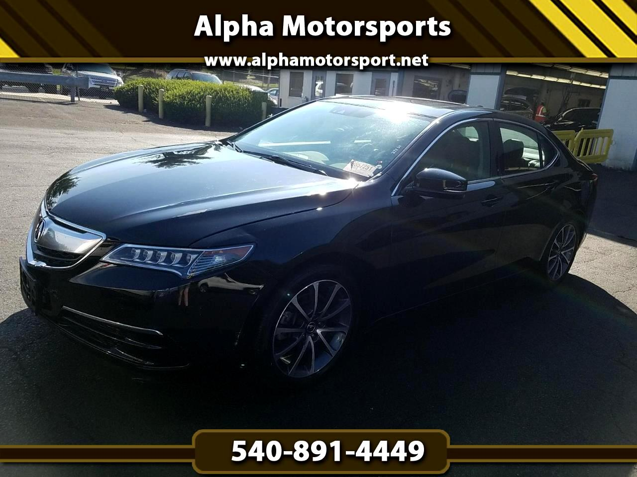 2016 Acura TLX 9-Spd AT SH-AWD w/Technology Package