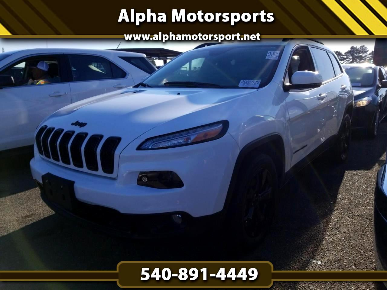 Jeep Cherokee 4WD 4dr High Altitude 2016