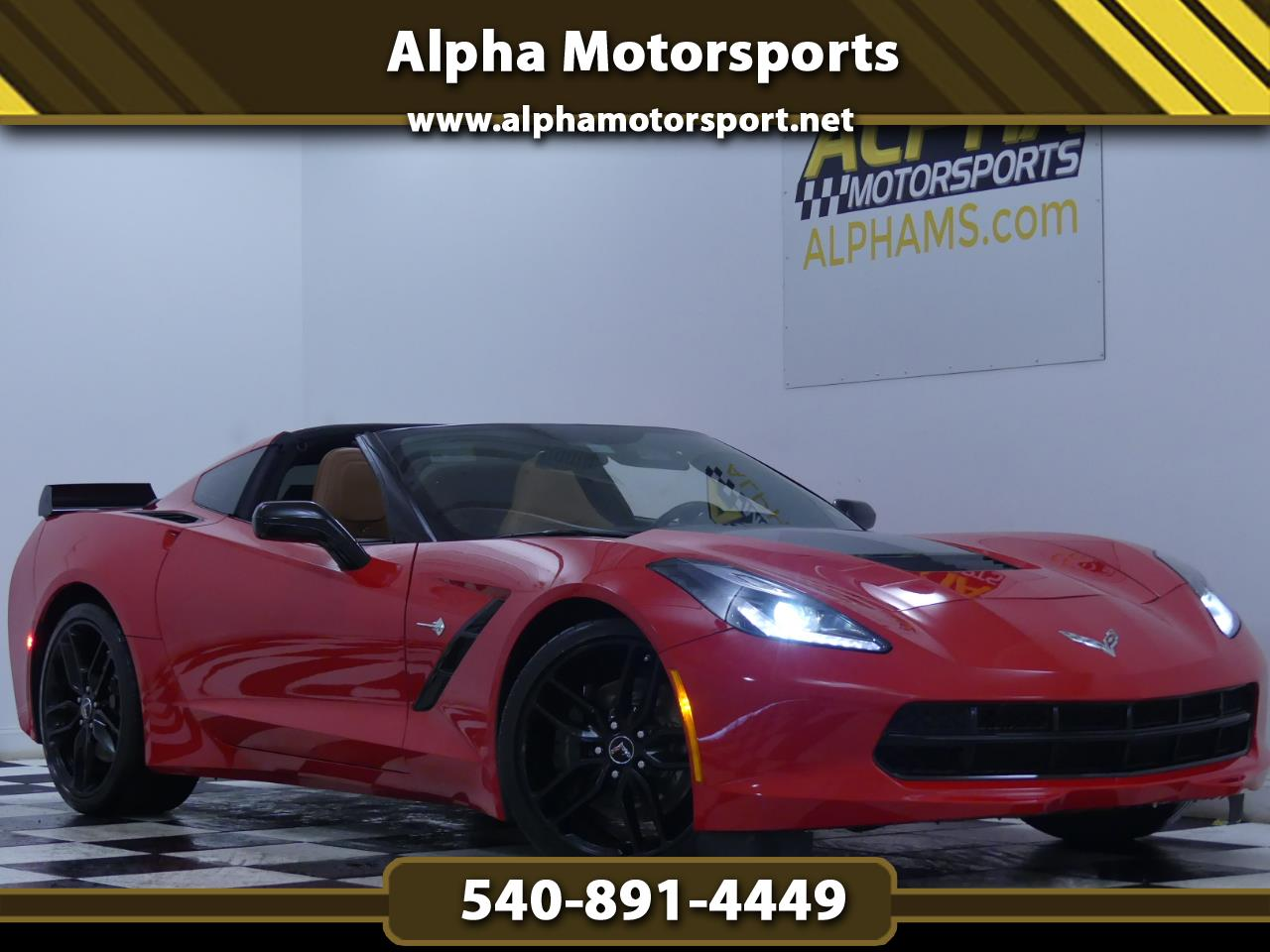 Chevrolet Corvette Stingray Z51 2LT Coupe Manual 2014
