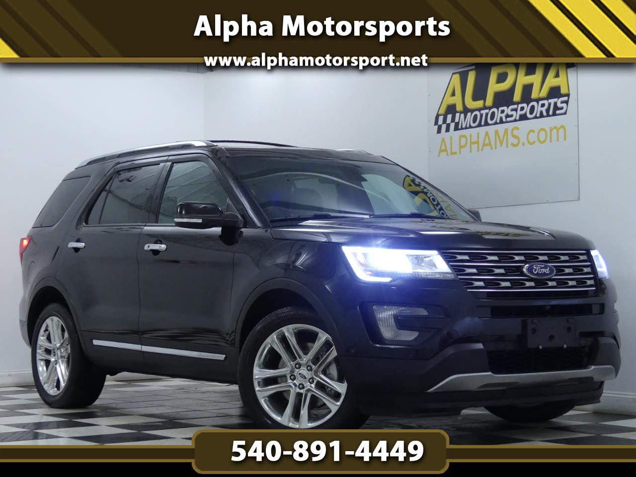 Ford Explorer Limited 4WD 2016