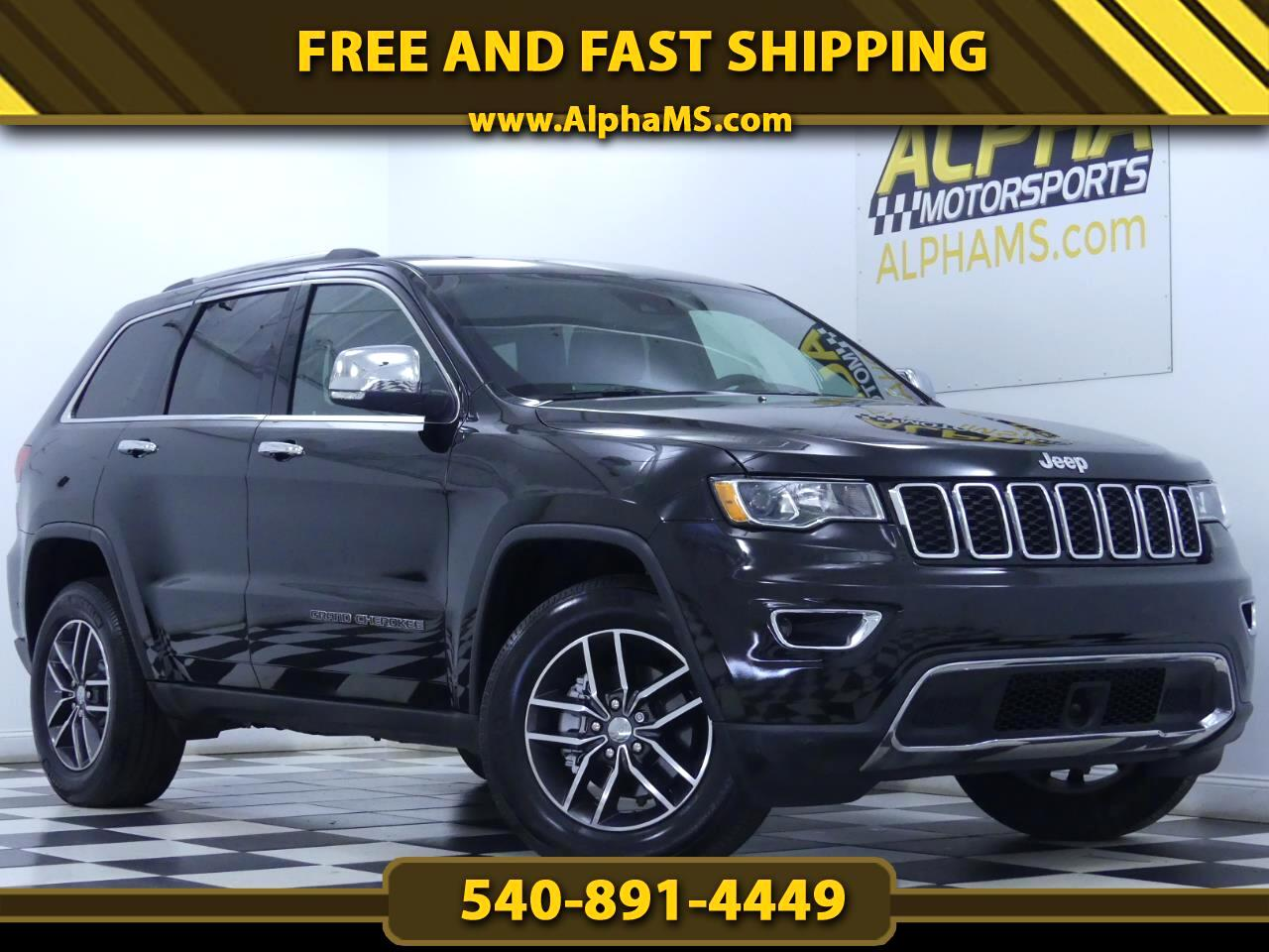 Jeep Grand Cherokee Limited 4WD 2018
