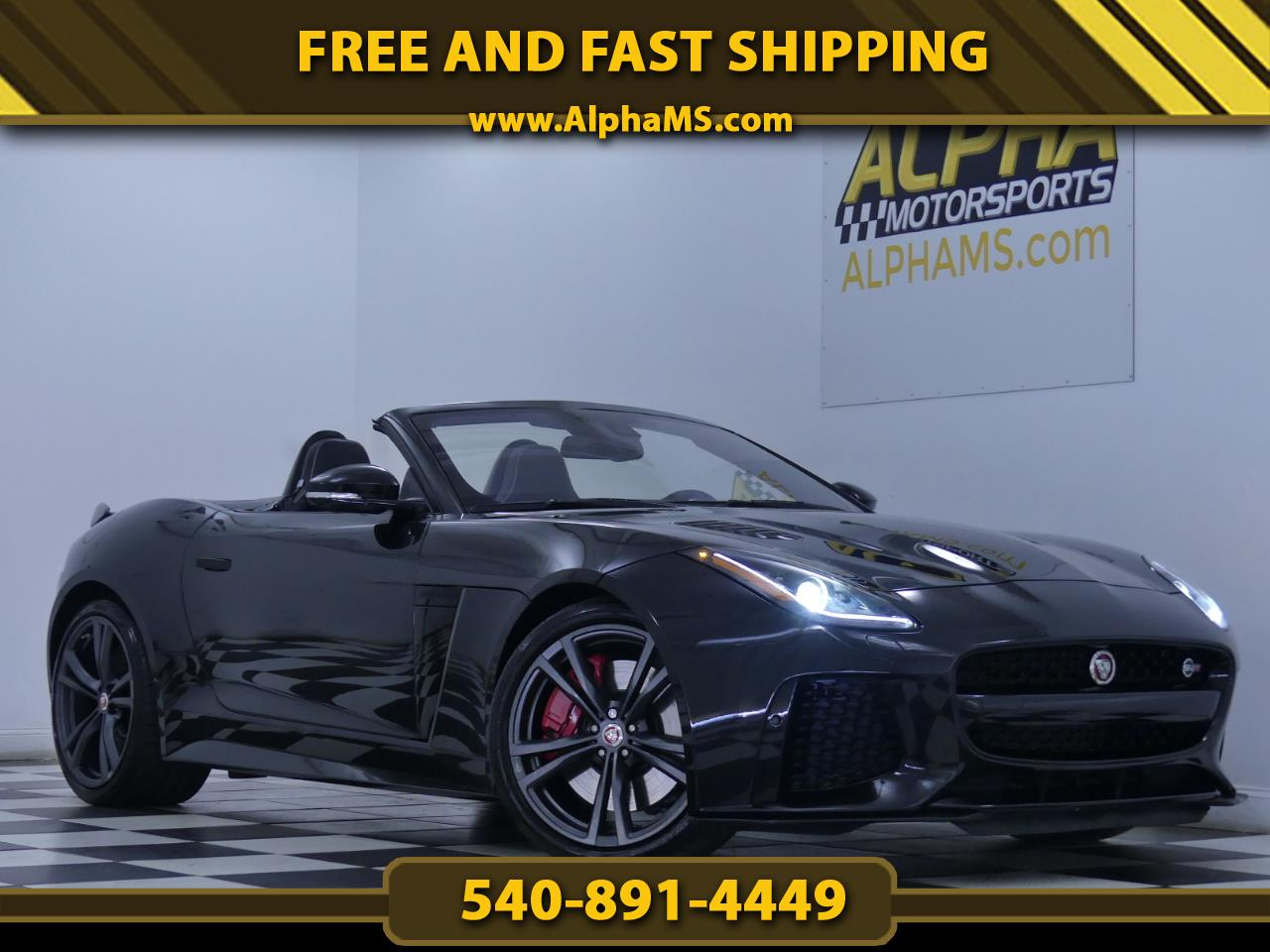 Jaguar F-Type Convertible Auto SVR AWD 2017