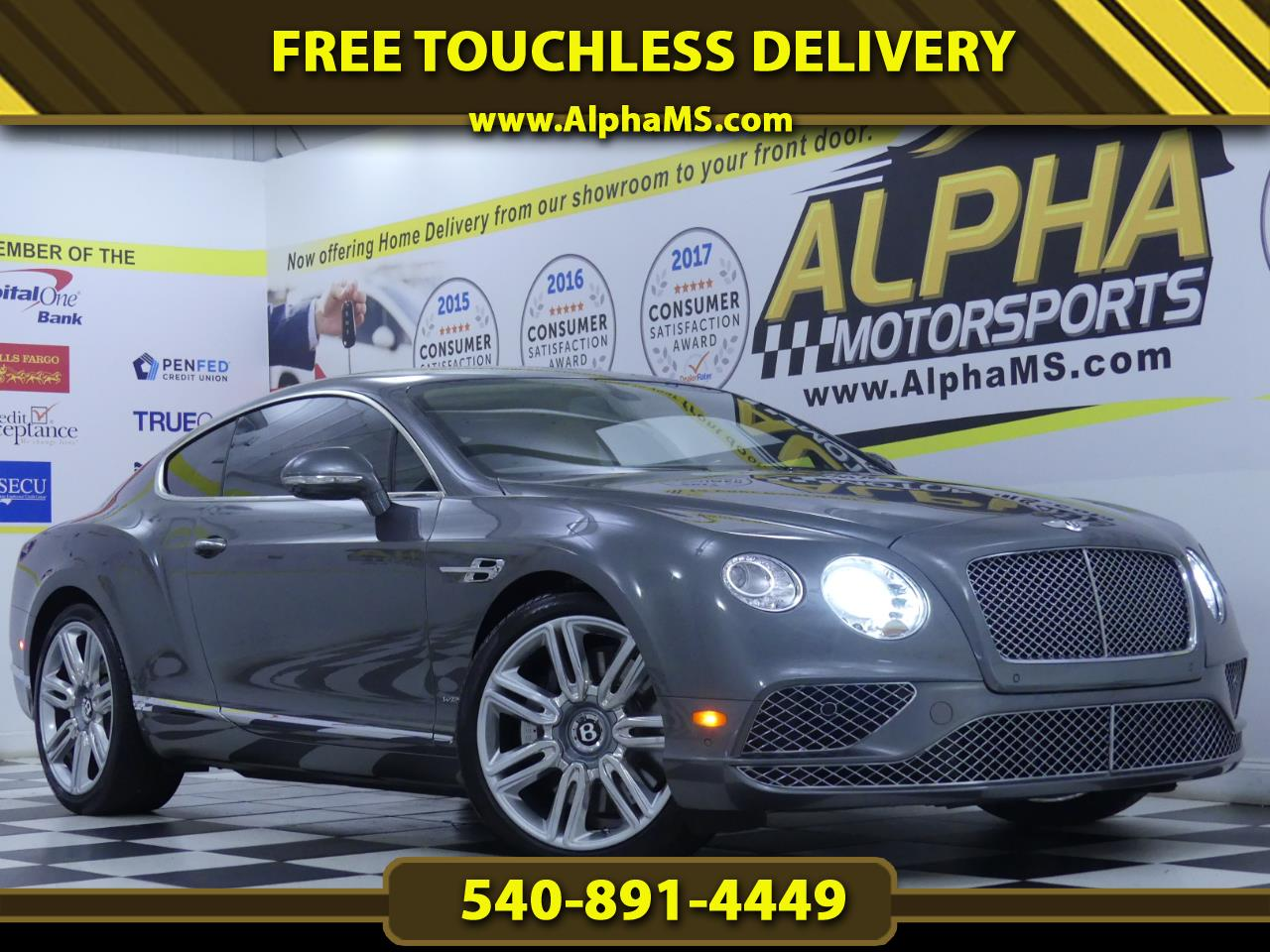 Bentley Continental GT 2dr Cpe W12 2016