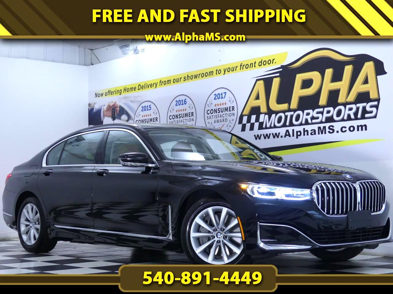 BMW 7-Series 750i xDrive 2020