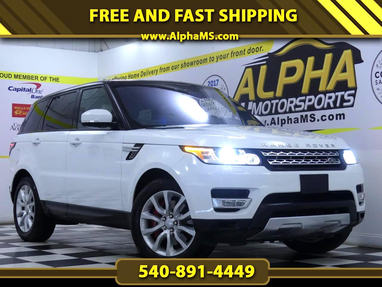 Land Rover Range Rover Sport Supercharged 2017