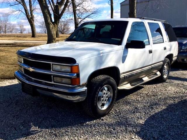Chevrolet Tahoe 4-Door 4WD 1999