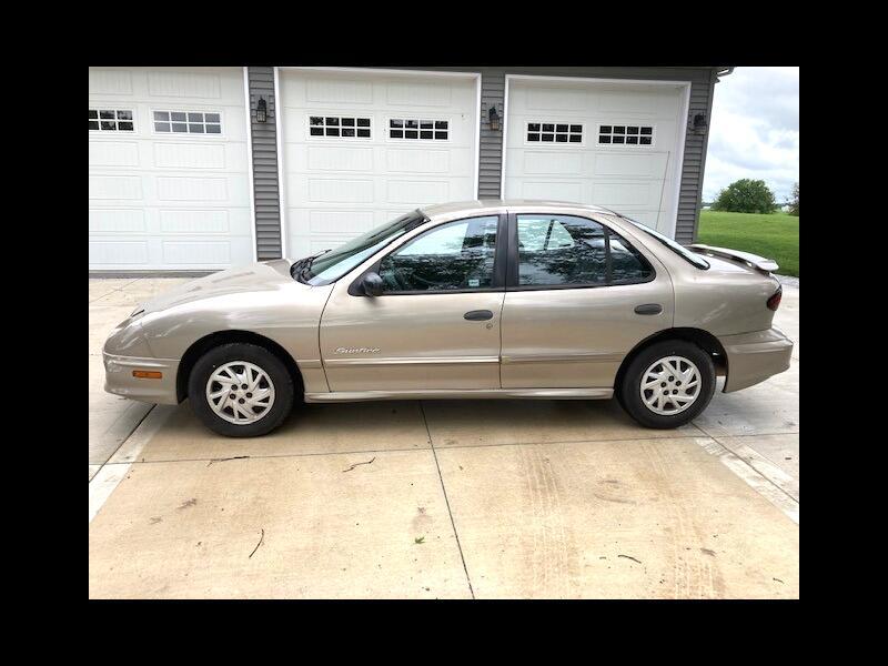 Pontiac Sunfire SE sedan 2002