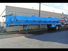 2012 Dragon Vacuum Tank Trailer