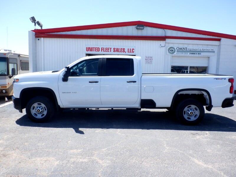 Chevrolet Silverado 2500HD Work Truck Crew Cab Long Box 4WD 2020
