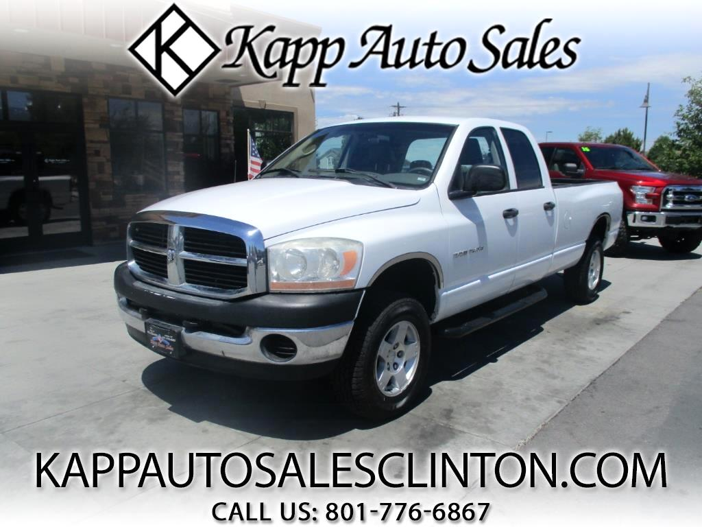 2006 Dodge Ram 1500 SLT Quad Cab Long Bed 4WD