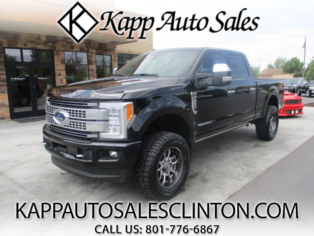 2018 Ford F-350 SD Platinum 4WD Crew Cab 8' Box