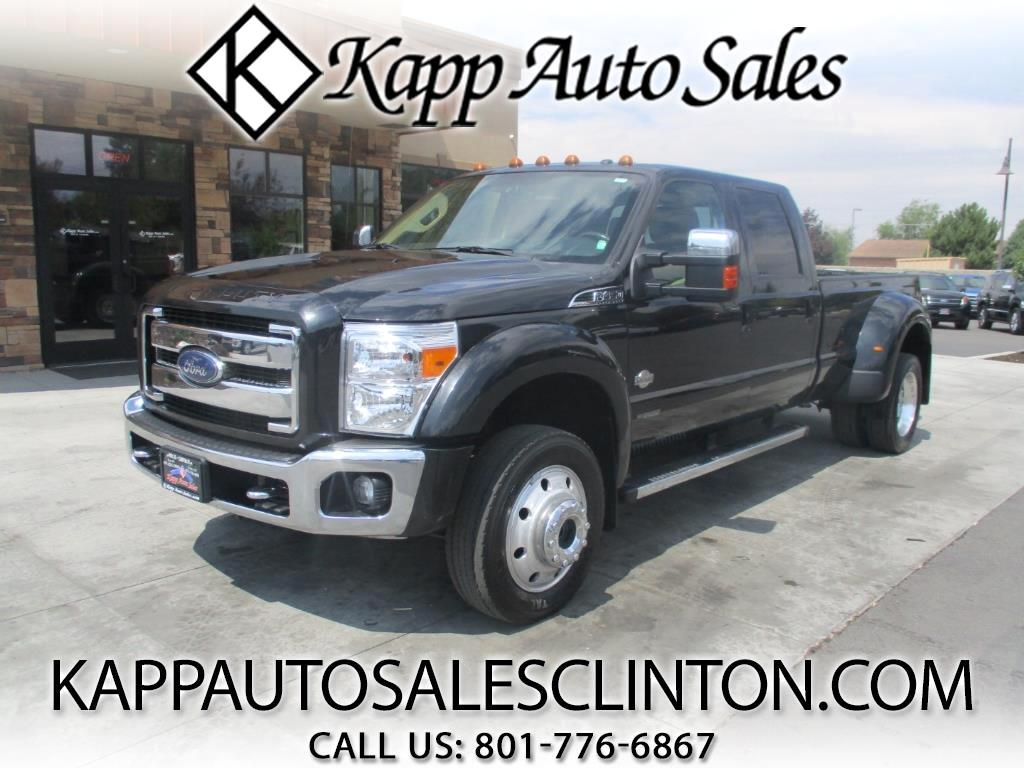 2015 Ford F-450 SD King Ranch Crew Cab DRW 4WD