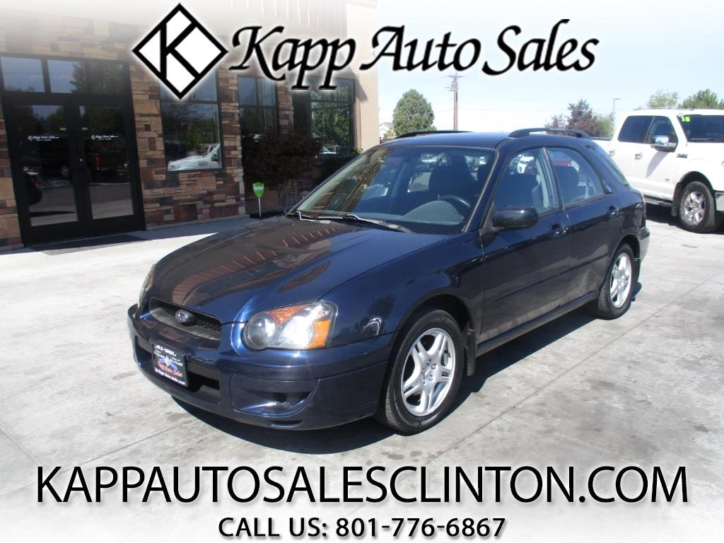 2005 Subaru Impreza Wagon 2.5 RS Sport Manual
