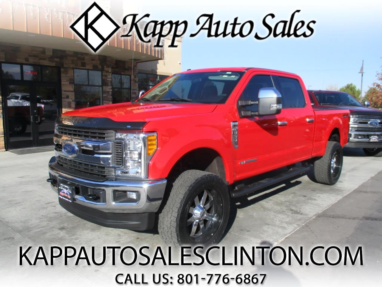 2017 Ford F-350 SD XLT 4WD Crew Cab 8' Box