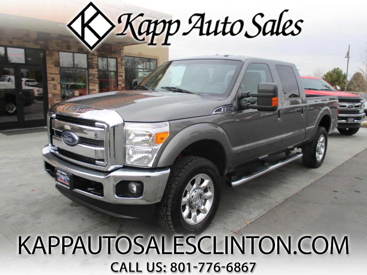 2013 Ford F-350 SD 4WD Crew Cab 156