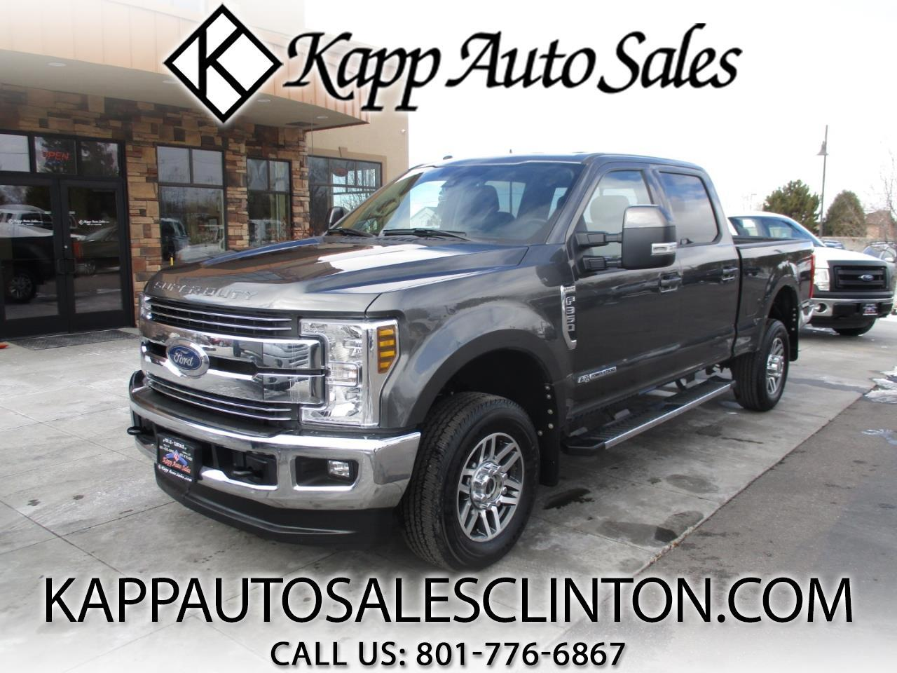2018 Ford Super Duty F-350 SRW LARIAT 4WD Crew Cab 6.75' Box