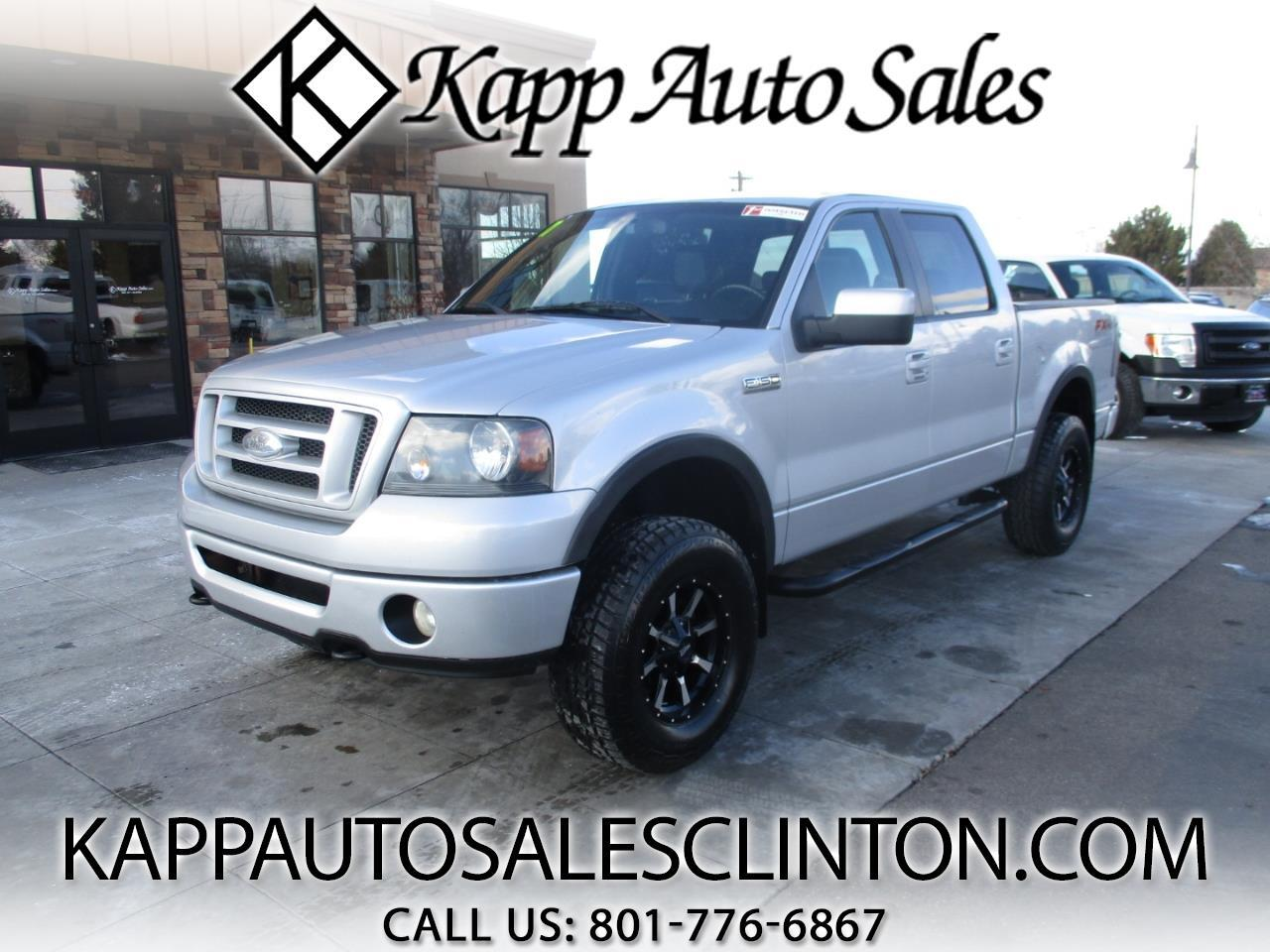 "2007 Ford F-150 4WD SuperCrew 139"" FX4"