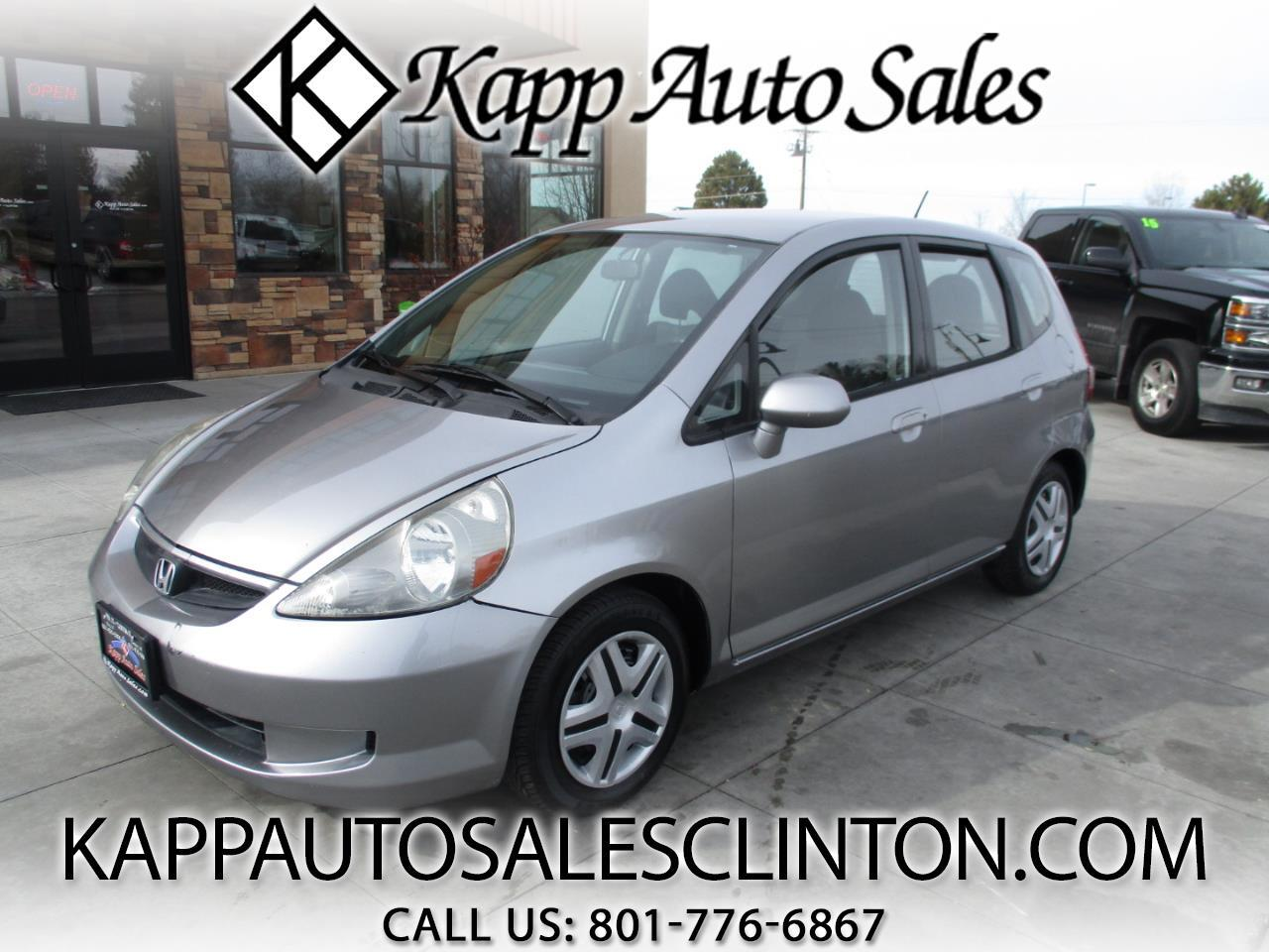 2007 Honda Fit 5dr HB AT