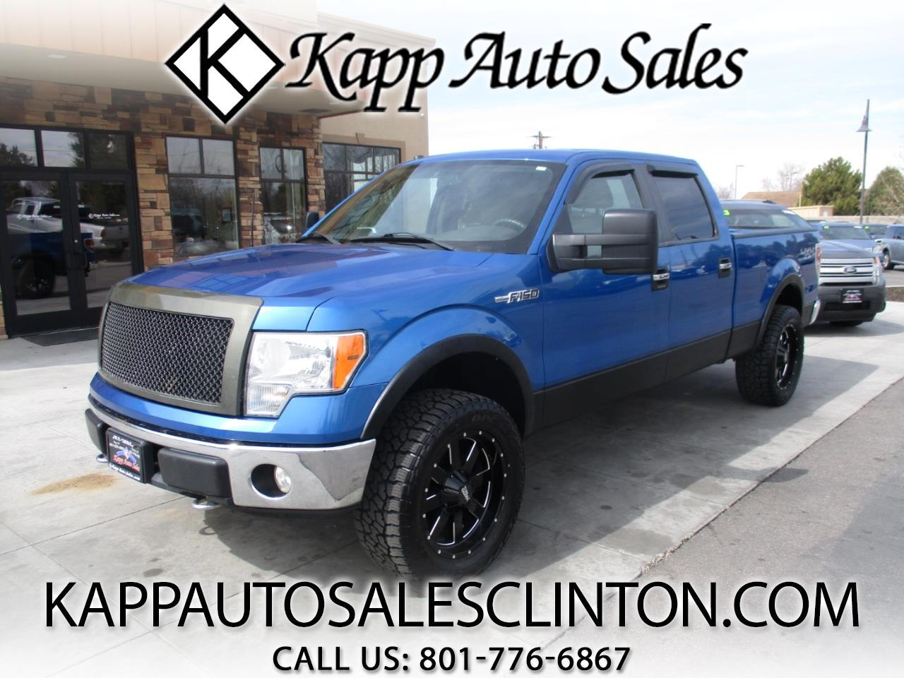 "2009 Ford F-150 4WD SuperCrew 157"" XLT"