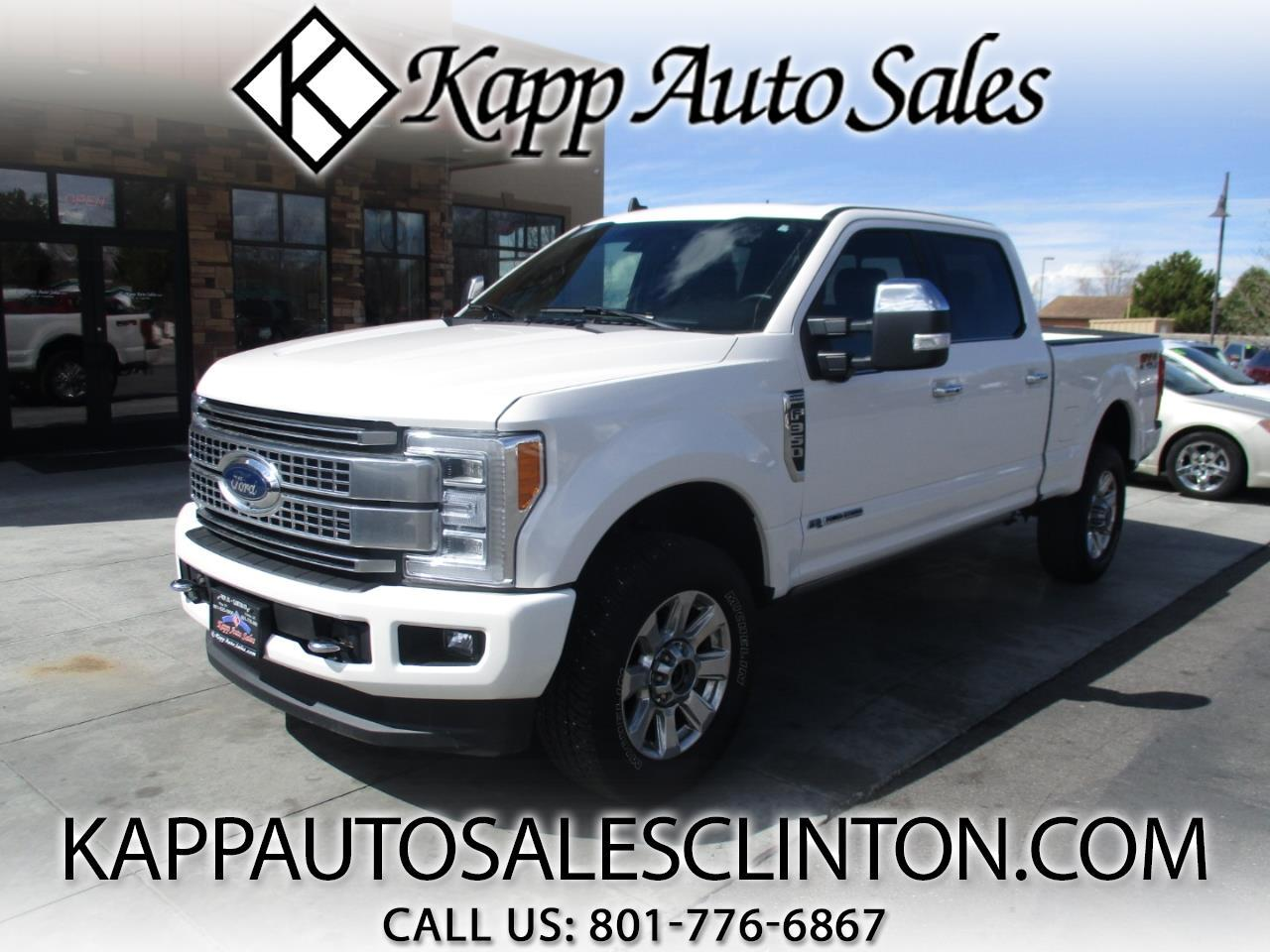 2019 Ford Super Duty F-350 SRW Platinum 4WD Crew Cab 6.75' Box