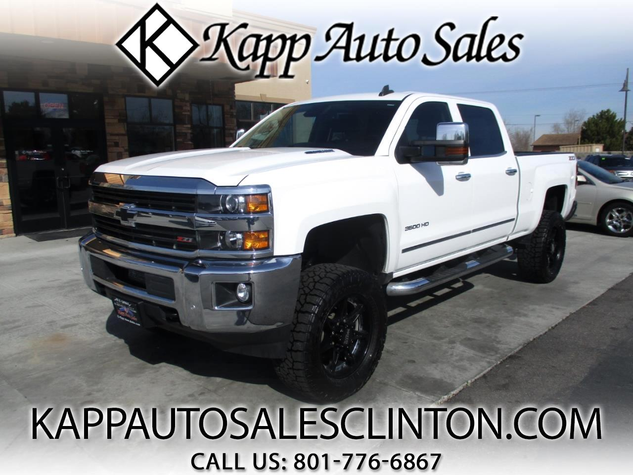 2015 Chevrolet Silverado 3500HD Built After Aug 14 4WD Crew Cab 153.7