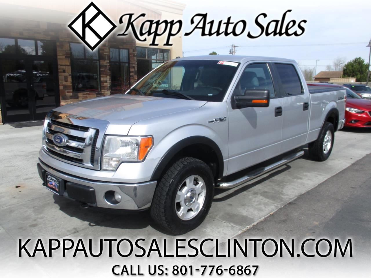 "2011 Ford F-150 4WD SuperCrew 157"" XLT"