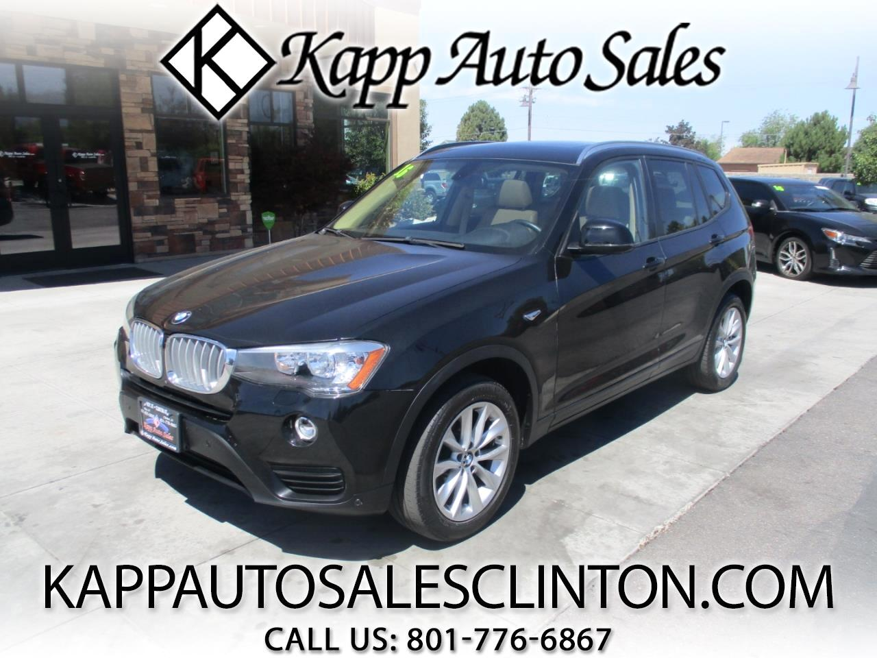 2016 BMW X3 AWD 4dr xDrive28d
