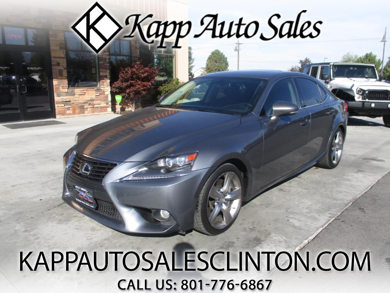 Lexus IS 350 4dr Sdn AWD 2014