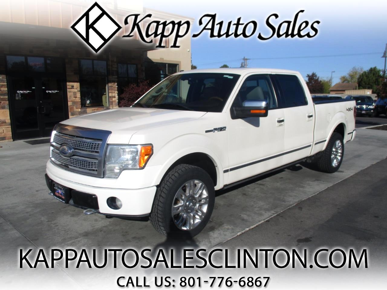 "Ford F-150 4WD SuperCrew 157"" Platinum 2009"