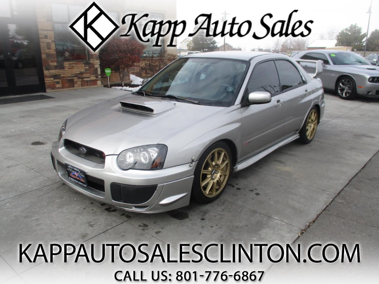 2005 Subaru Impreza Sedan (Natl) 2.5 WRX STi w/Gold Wheels