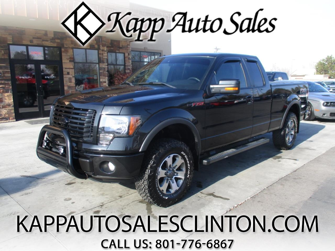 "2012 Ford F-150 4WD SuperCab 145"" FX4"