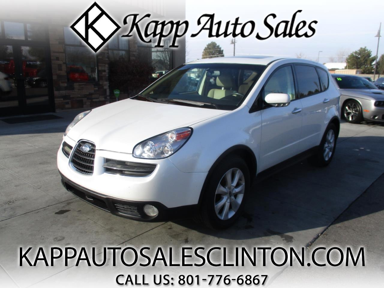 2007 Subaru B9 Tribeca AWD 4dr 5-Pass Ltd Beige Int