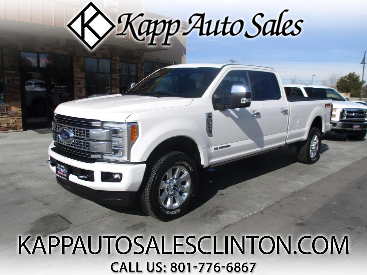Ford Super Duty F-350 SRW Platinum 4WD Crew Cab 8' Box 2019