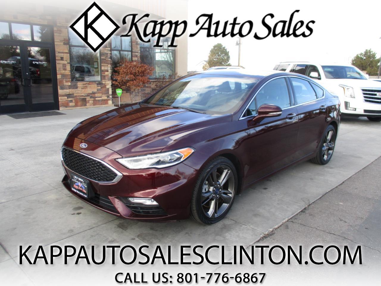 Ford Fusion SPORT AWD 2017