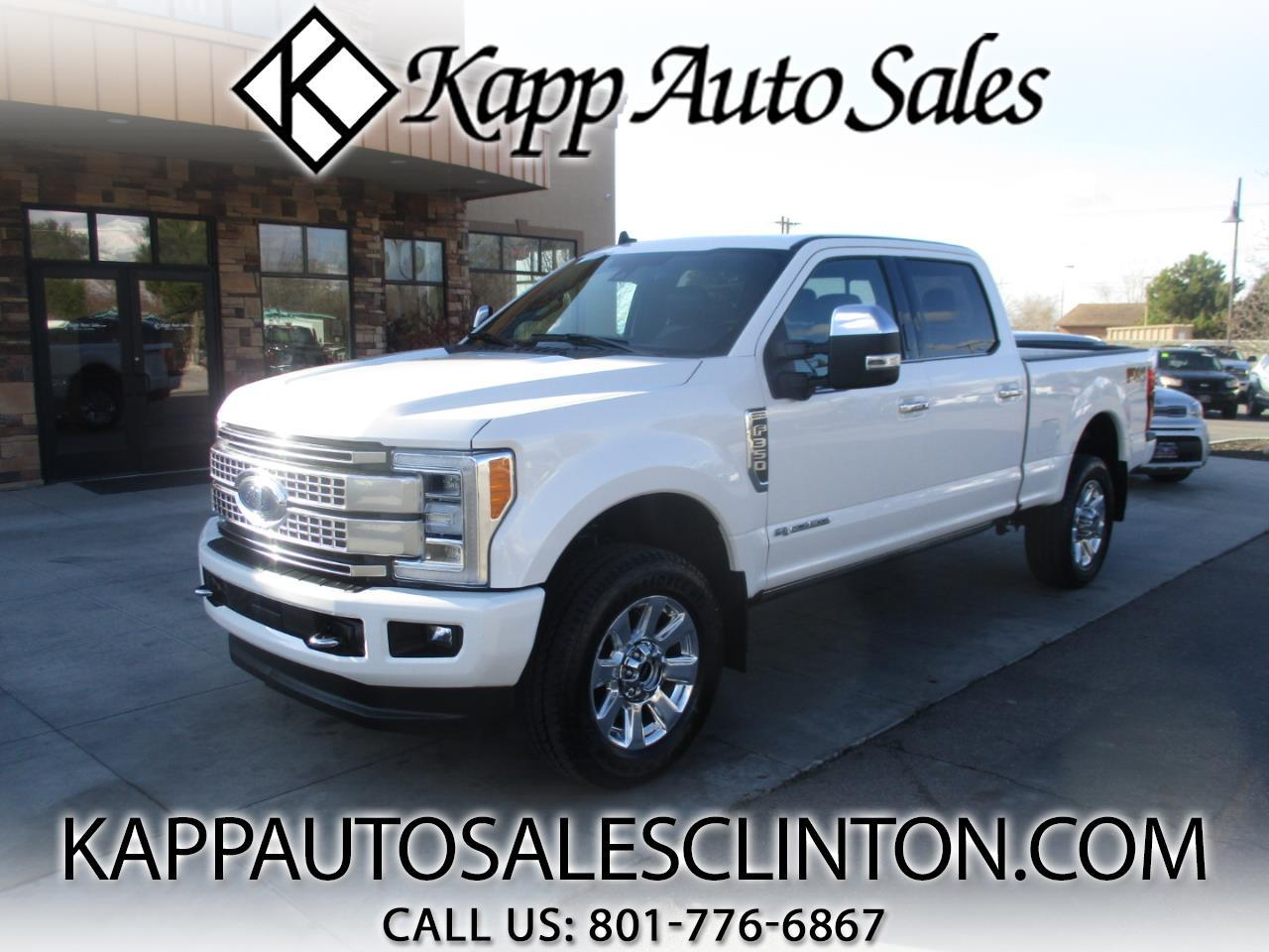 Ford Super Duty F-350 SRW Platinum 4WD Crew Cab 6.75' Box 2019