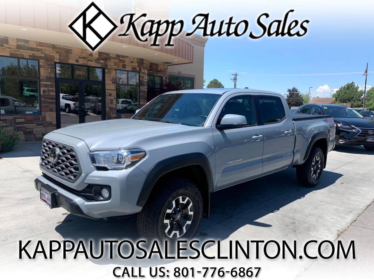 Toyota Tacoma 4WD TRD Off Road Double Cab 6' Bed V6 AT (Natl) 2020