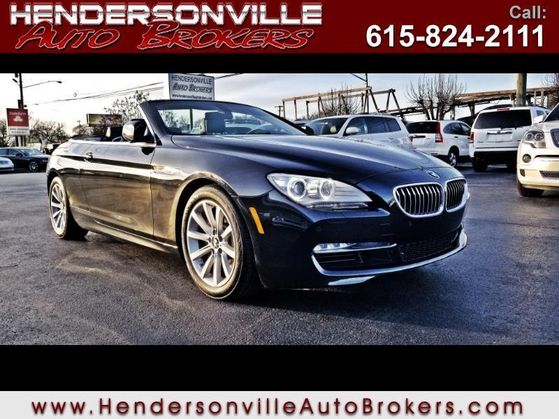 2012 BMW 6-Series 2dr Conv 640i